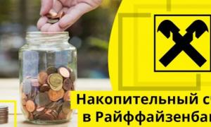 Обзор накопительного счета в Райффайзенбанк