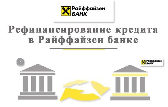 Преимущества рефинансирования займов в Райффайзенбанке